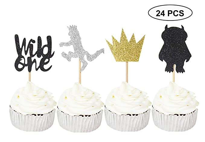 50 Count Confetti Wild One Birthday Decorations//Where The Wild Things Are