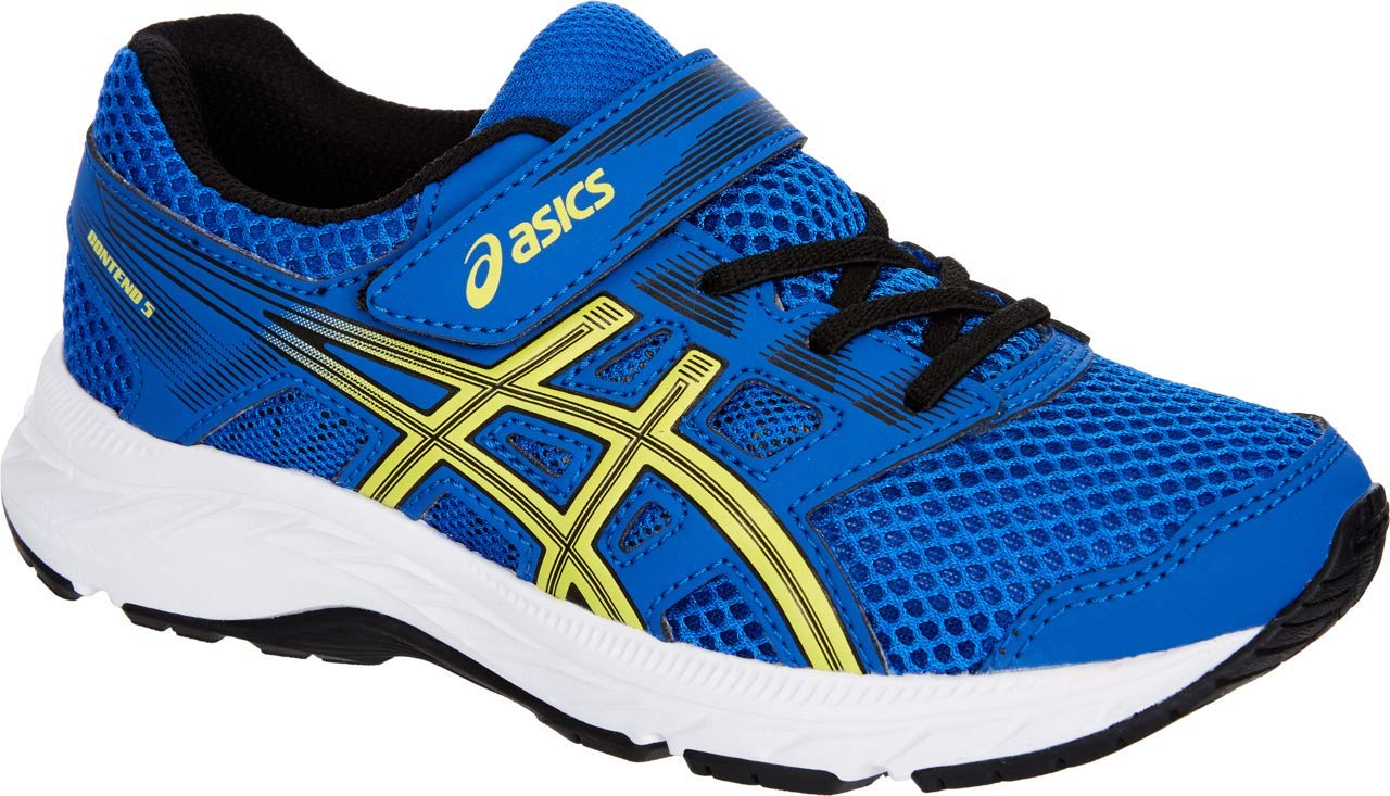 ASICS Gel Contend 5 PS Kid's Running Shoe, Illusion Blue/Lemon Spark, 3 M US Little Kid