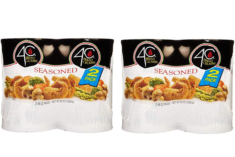 4C Seasoned Bread Crumbs, 92 Ounce (2 Pack)