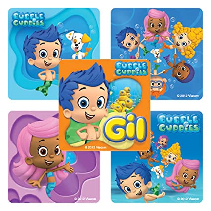 SmileMakers Bubble Guppies Stickers - 100 Per Pack