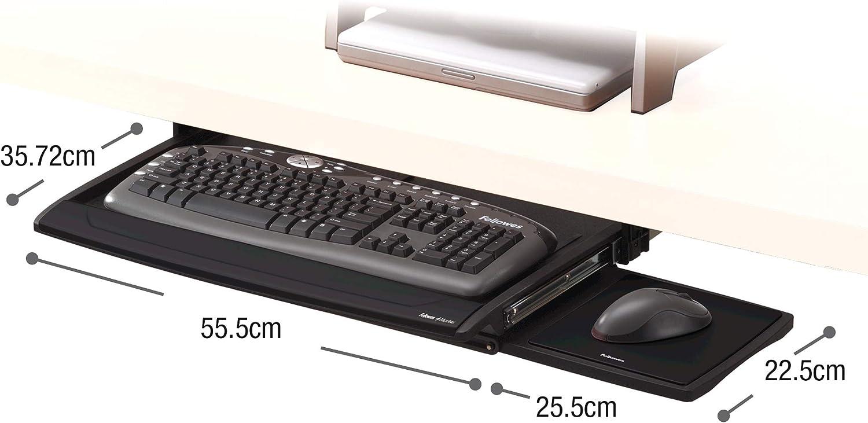 Fellowes Office Suites Deluxe tiroir pour clavier (8031201)