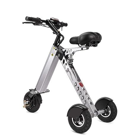 Topmate Eléctrico vehículo Mini Moda de Bicicletas y electrónica Inteligente de Movilidad eléctrica de Triciclo Plegable y portátil Bicicleta ...