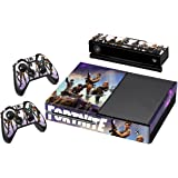 Fortnite - Vinyl Decal Protective Skin Cover Sticker for Xbox One Console and 2 Controllers by ConsoleWraps