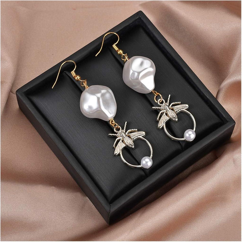 Pendientes de gota para mujer, diseño especial, de oro y plata, para decoración clásica