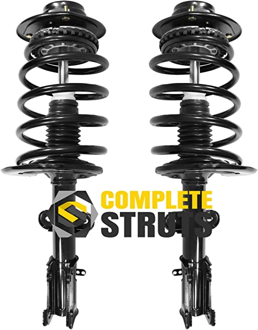 - One Year Warranty QBA for Both Left and Right 2004 for Chrysler Pacifica Front Premium Quality Suspension Strut and Coil Spring Assemblies