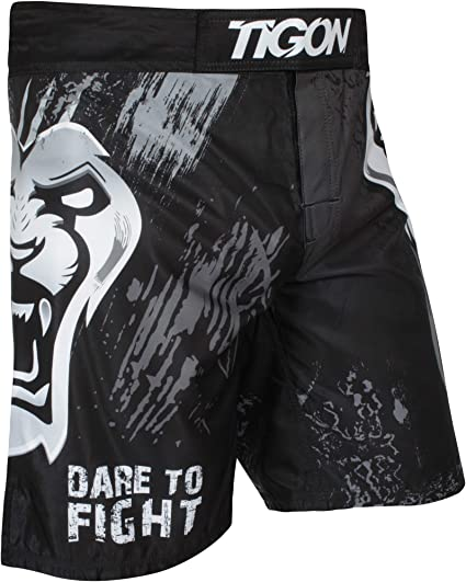 MMA Tiger Muay Thai Shorts Cage Fighting Martial Arts Short Free Shipping