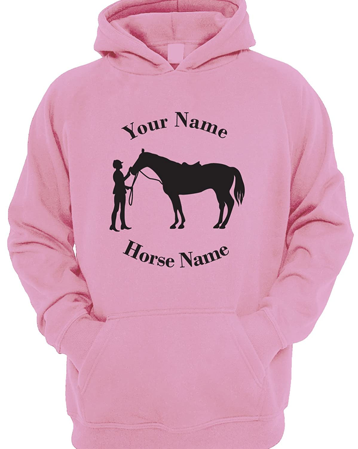 Personalised Rider and Horse Children's Horse Riding Hoodie 42188