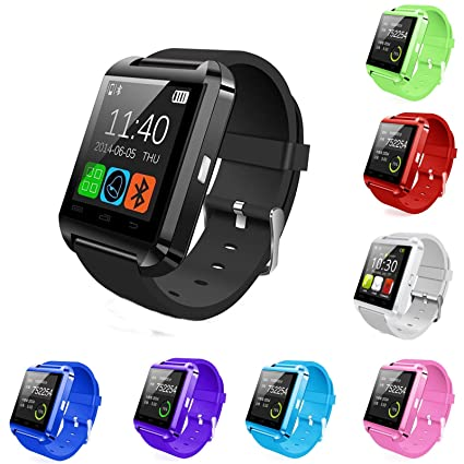 35053ccf9 Amazon.com: Bluetooth Smart Wrist Watch Phone Mate For IOS Android iPhone Samsung  HTC LG: Everything Else