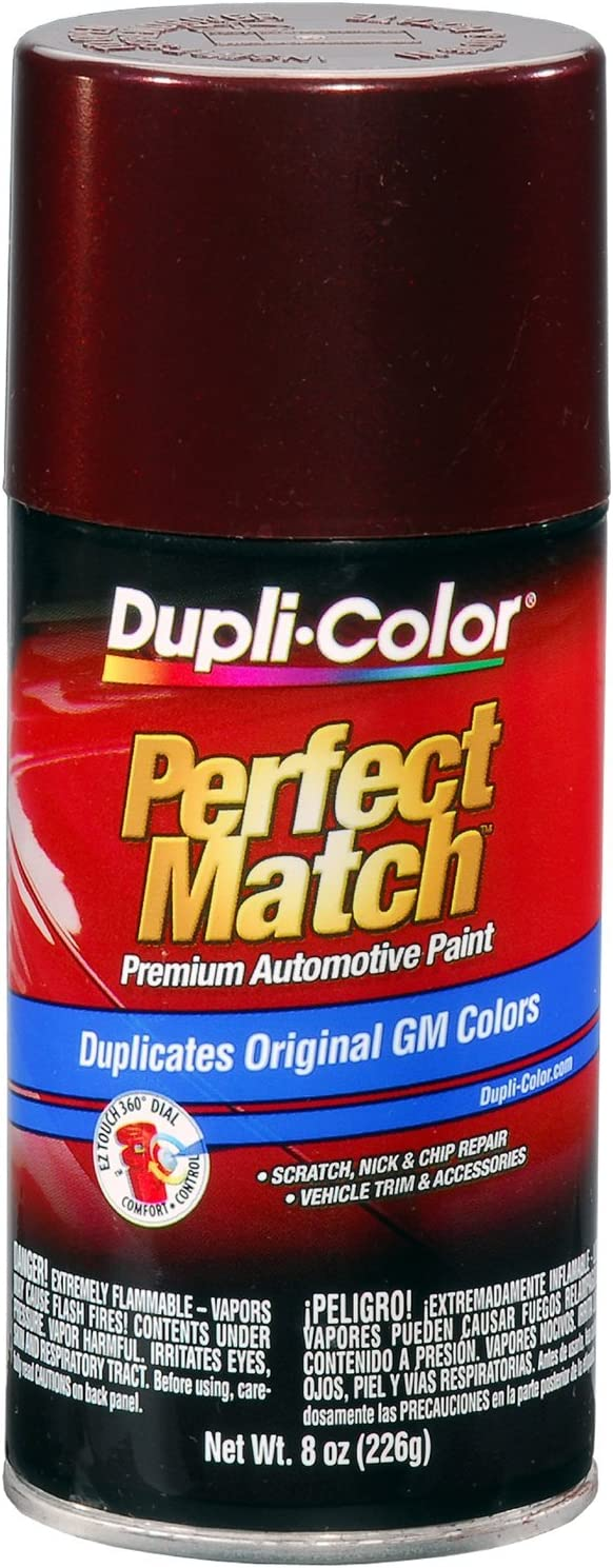 Dupli-Color - EBGM05327 BGM0532 Dark Garnet Red Metallic General Motors Exact-Match Automotive Paint - 8 oz. Aerosol