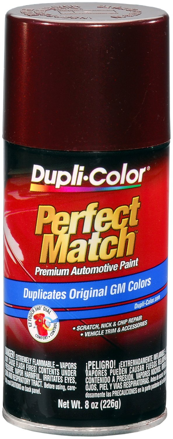 Dupli-Color (BGM0532-6 PK) Dark Garnet Red Metallic General Motors Exact-Match Automotive Paint - 8 oz. Aerosol, (Case of 6)