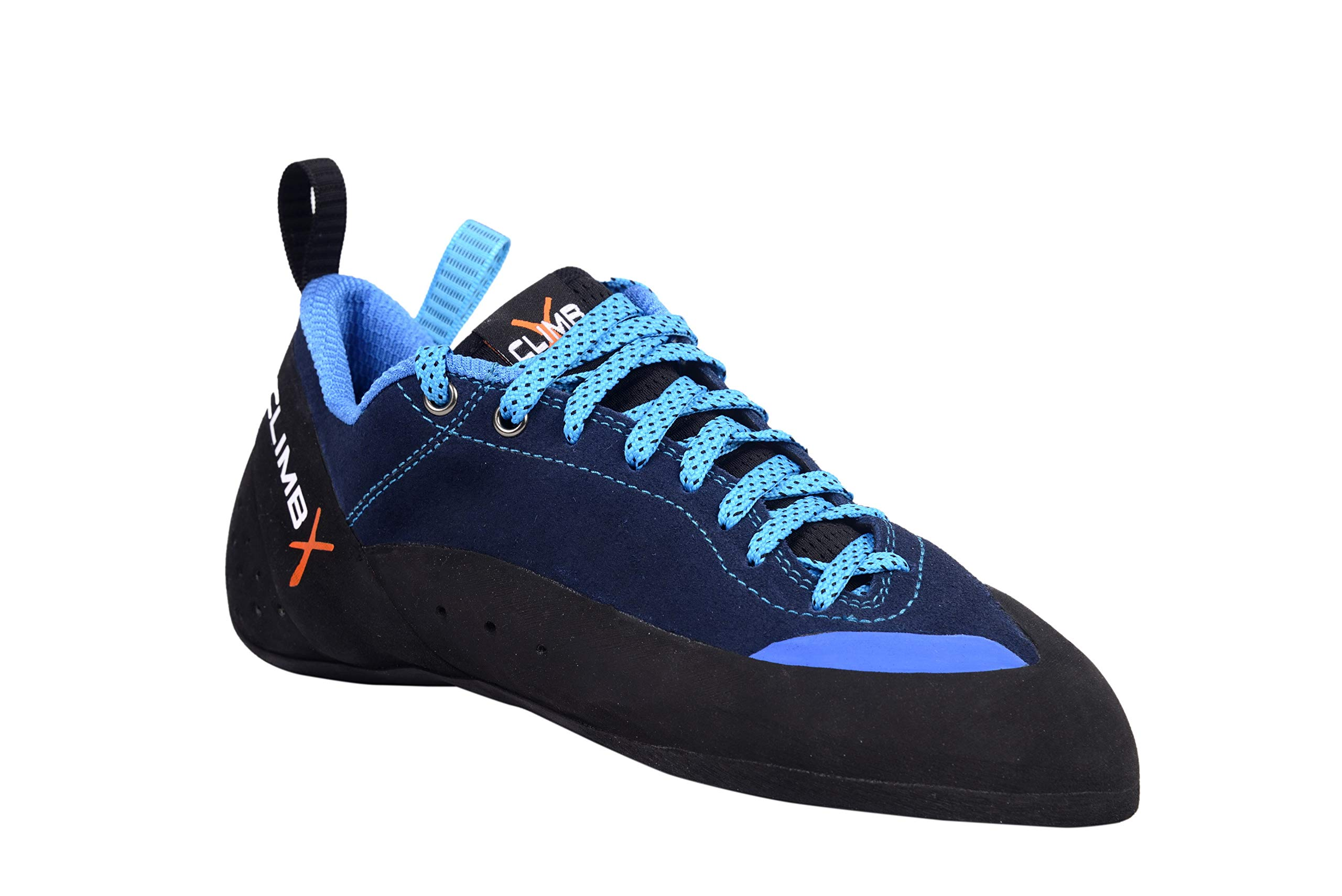 Climb X Crush Lace - Blue - 2019 Rock Climbing/Bouldering Shoe (10) by Climb X