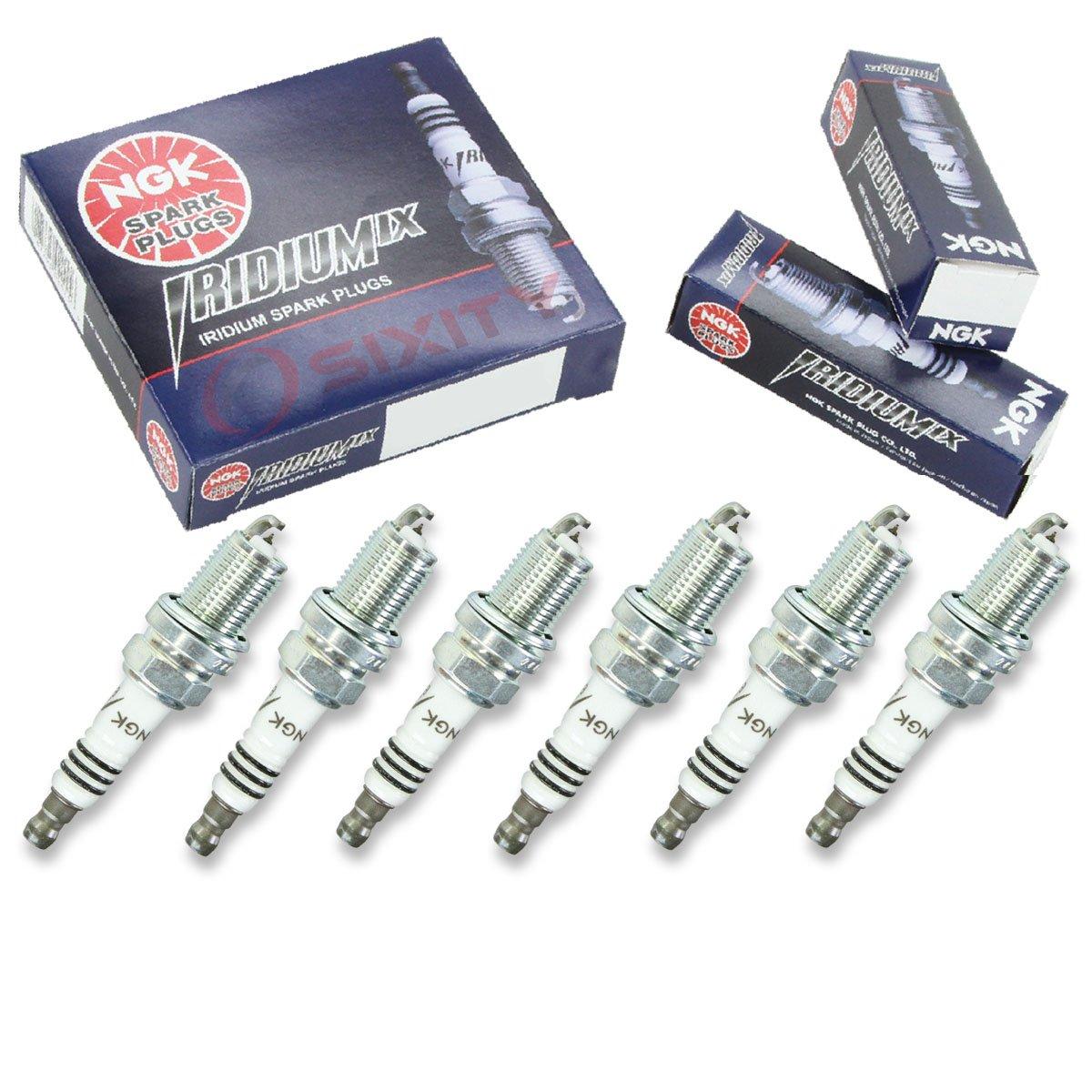 Amazon.com: NGK Iridium IX 6pcs Spark Plugs Mitsubishi Montero Sport 99-04 3.5L V6 Kit: Automotive