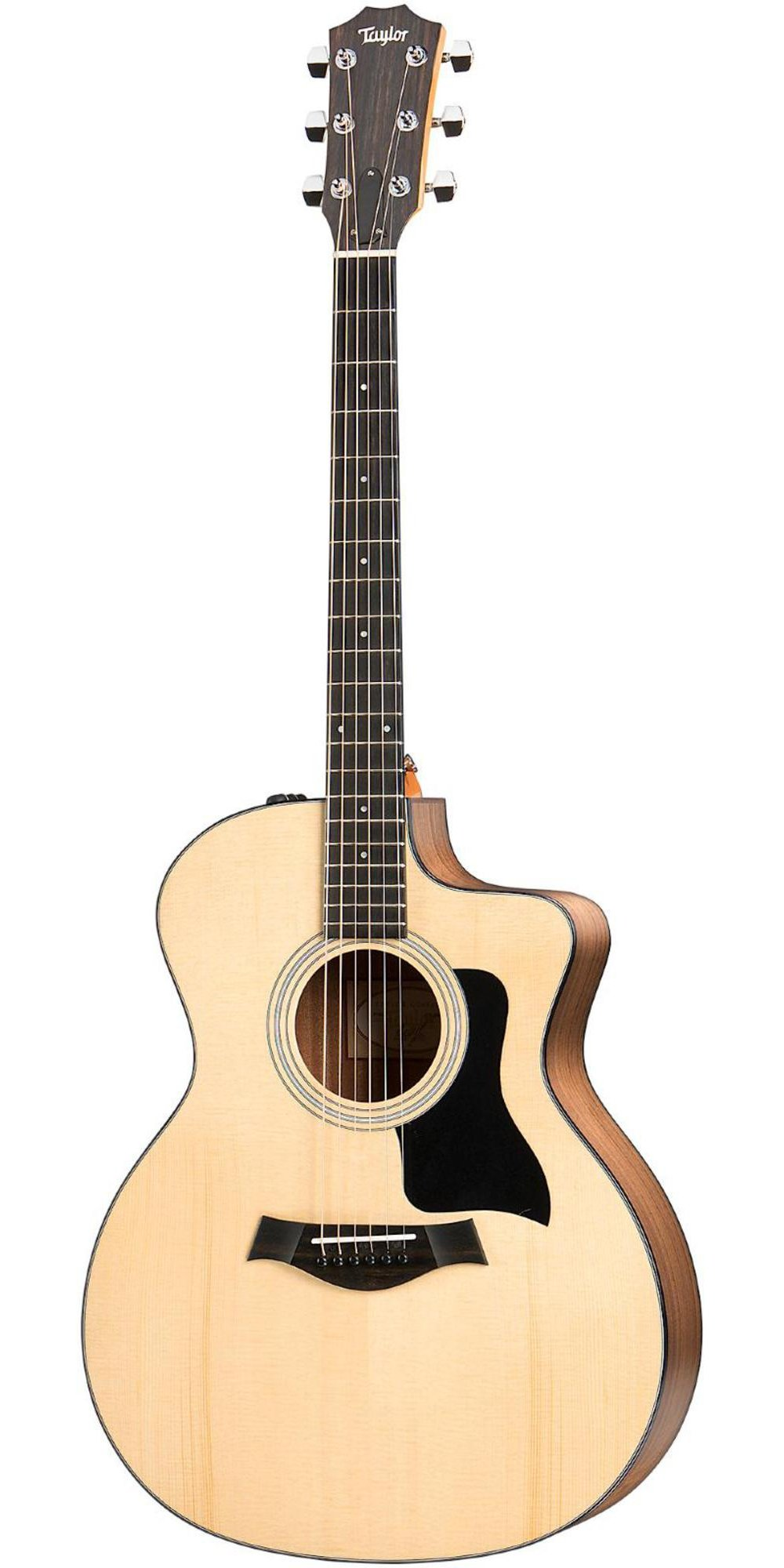 Taylor 114ce 100 Series Acoustic Guitar, Sapele, Grand Auditorium, Cutaway, ES-T