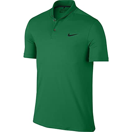 2765404e13dd5 Amazon.com: Nike Golf CLOSEOUT TR Dry Heather Roll Polo (Lucid Green ...