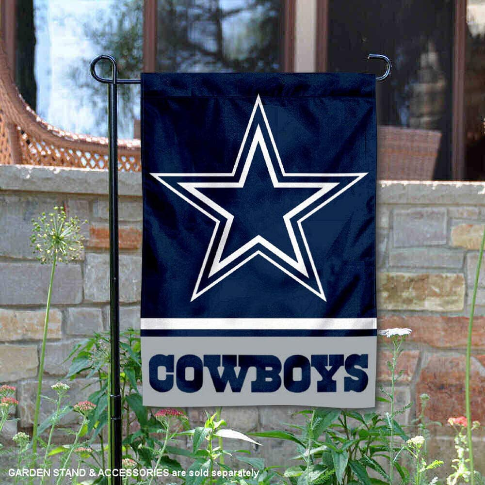 WinCraft Dallas Cowboys Double Sided Garden Flag