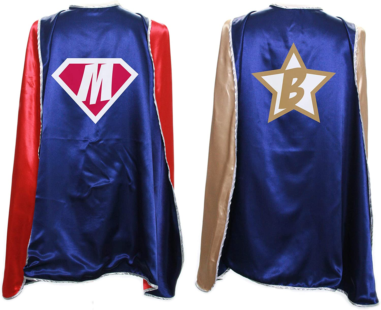 Everfan Personalized Superhero Capes for Adults | Custom Adult Super Hero Cape | Cape Costume | Polyester Satin