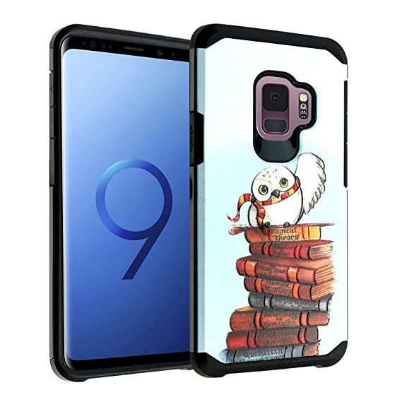sale retailer 4fa8f def05 Amazon.com: Galaxy S9 Case, IMAGITOUCH 2-Piece Style Armor Case with ...