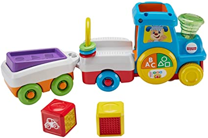 Fisher-Price Laugh & Learn First Words Crawl-Along Learning Train