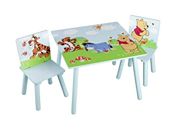 Pleasant Delta Winnie The Pooh Table And Chair Amazon Ca Electronics Andrewgaddart Wooden Chair Designs For Living Room Andrewgaddartcom
