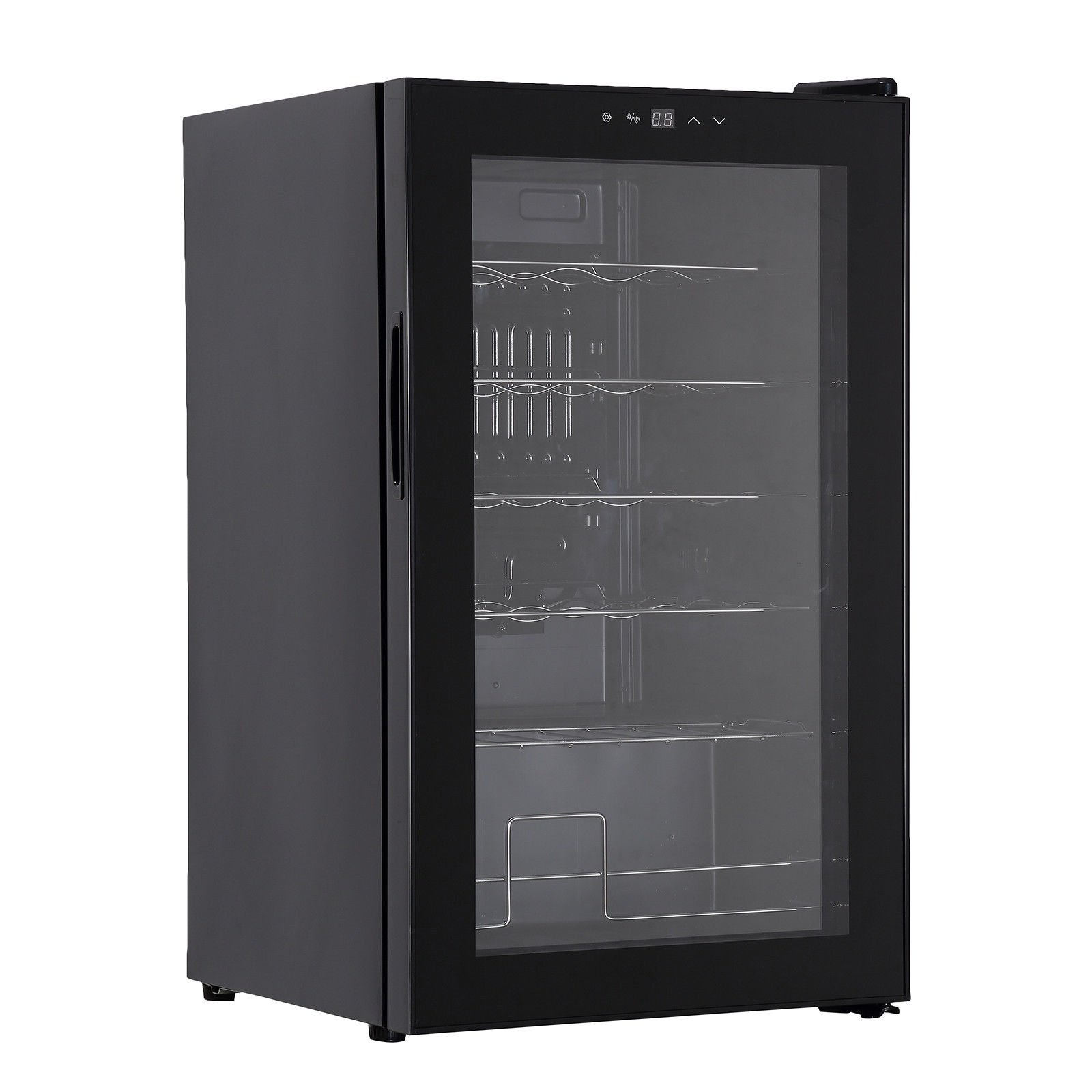 Freestanding Compress Fridge Cabin Thermoelectric Wine Cooler for 28 Bottles by onestops8