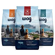 Amazon Brand - Wag Dry Dog Food Trial Size, No Added Grain, 5 Lb. Bag