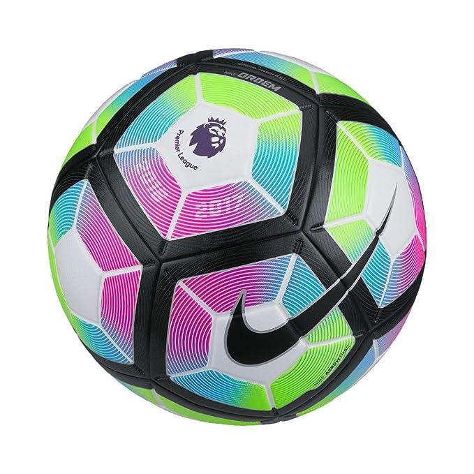 Nike Ordem 4-Premier League Balón, Unisex Adulto, Blanco/Blue ...