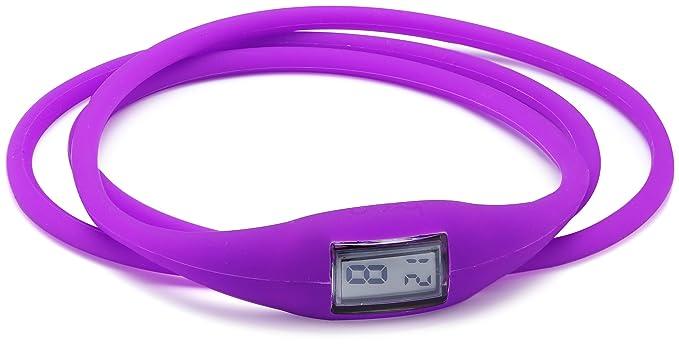 Breo Roam Twist B-TI-RTW2 - Reloj digital para niña, correa de goma color morado: Amazon.es: Relojes