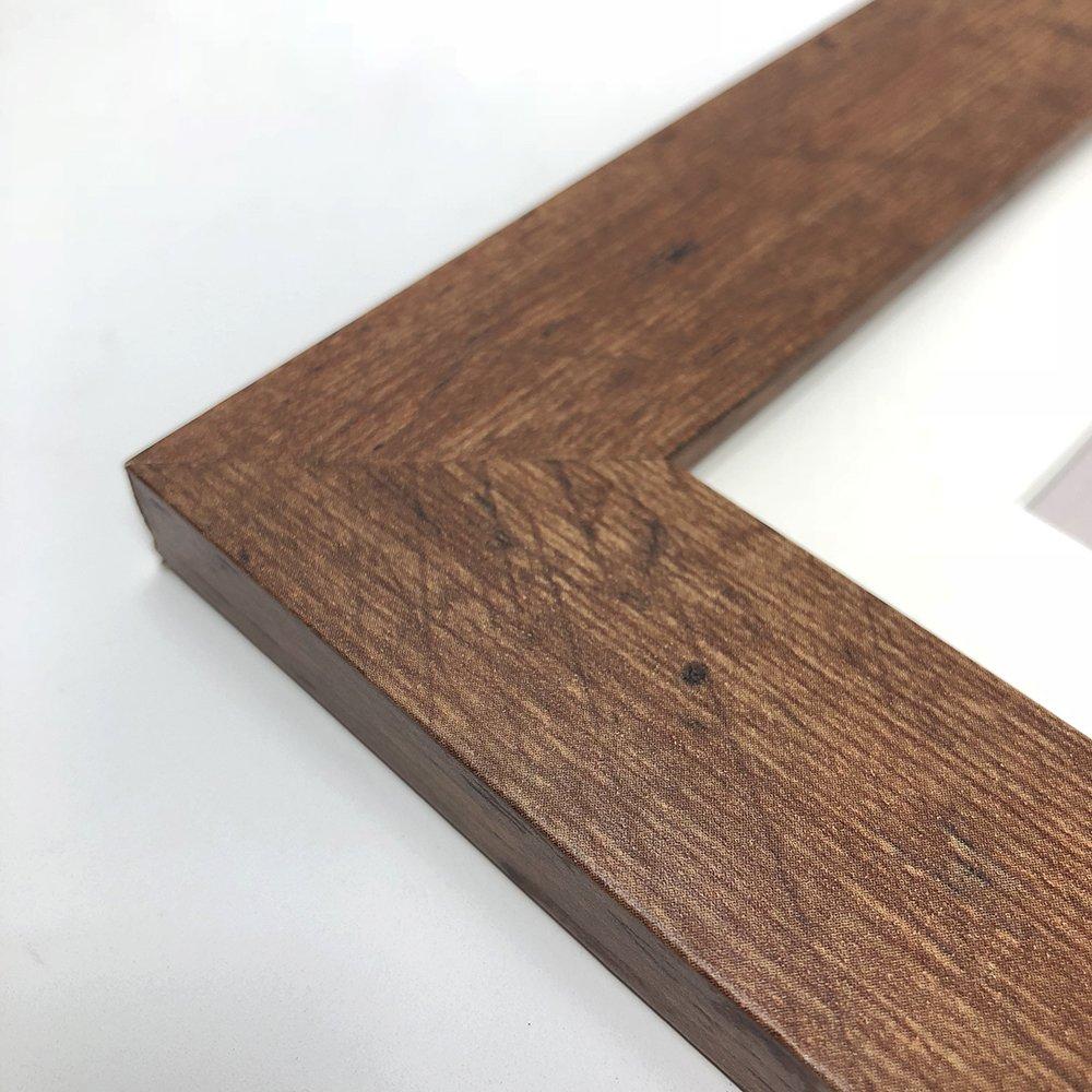 Marco de fotos (madera envejecida), madera, 10x8\