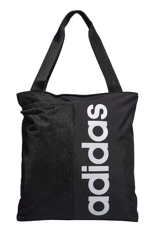 adidas Core Borsa da sport unisex, unisex, DM6160, Nero/Bianco, 35 x 39 x 14 cm ADIFO|#adidas