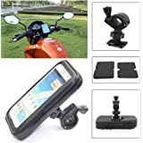 MultiWare Motorbike GPS Phone Holder GPS Waterproof Case Black