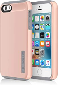 Incipio DualPro Case for Apple iPhone 5, 5s, SE Rose Gold IPH-1435-RGD-V