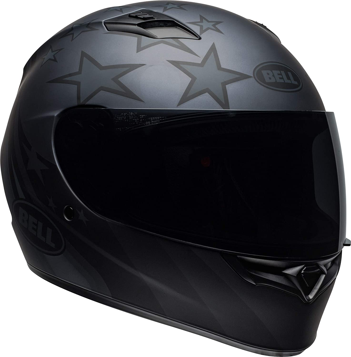 Bell Qualifier Full-Face Motorcycle Helmet (Solid Gloss Black, Large)