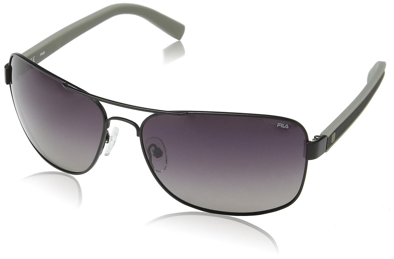 Fila SF9708-gafas de sol Hombre Gris Gris (SHINY BLACK ...