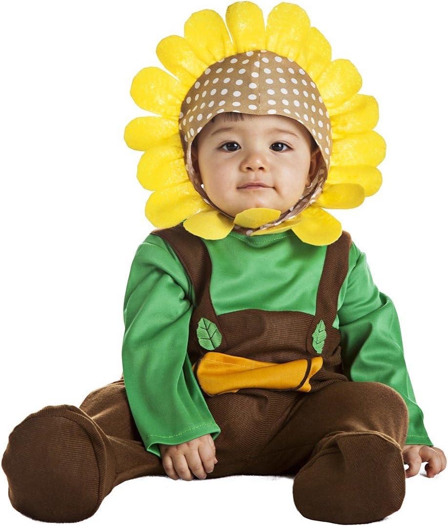 Disfraz de Girasol Infantil (7-12 meses): Amazon.es: Juguetes y juegos
