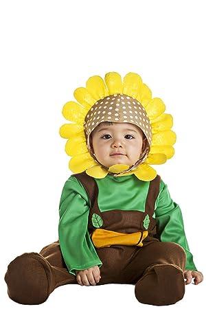 Disfraz de Girasol Infantil (0-6 meses): Amazon.es: Juguetes y juegos