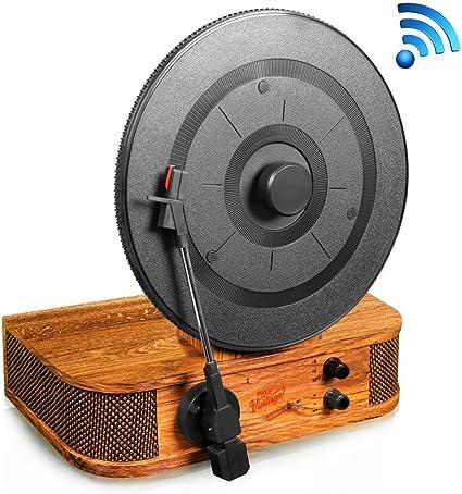 Amazon.com: Versión mejorada Pyle Turntable Bluetooth ...