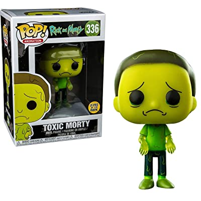 Funko Pop Animation Rick and Morty Glow in the Dark Toxic Morty Vinyl Figure 336: Toys & Games