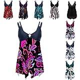 FRSH MNT Women Tankini Swimsuits Tummy Control Two Piece Bikini Sets Monokini Swimwear