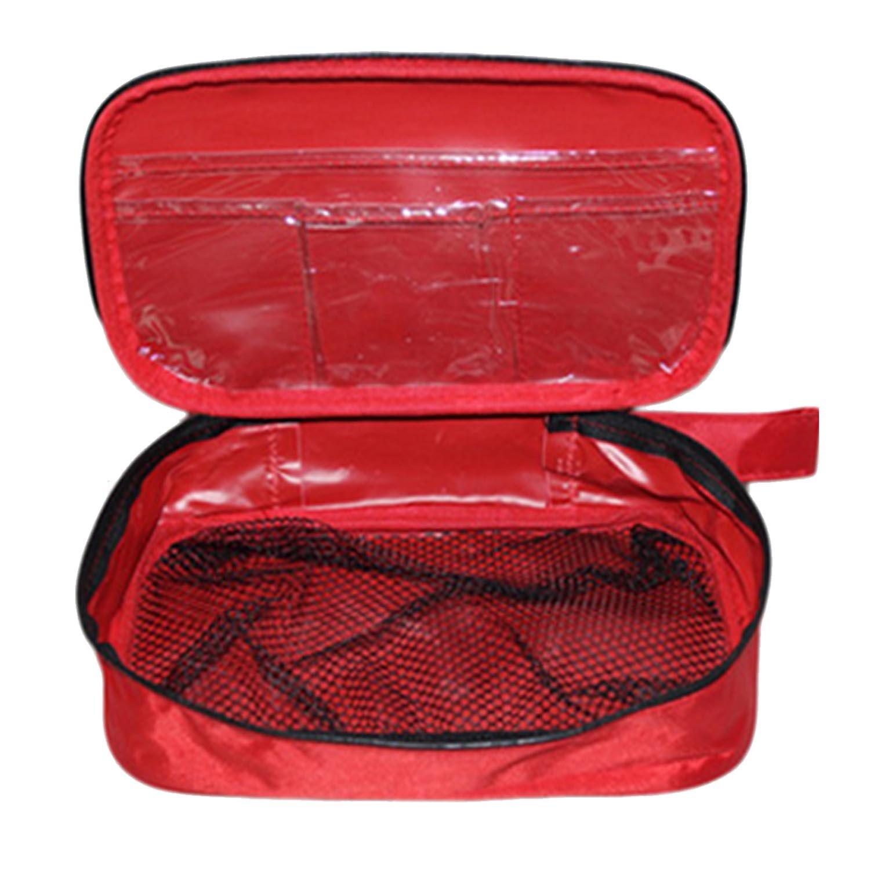 Kit Emergenza,101 PZ Portatile Completare Emergenza Kit di pronto soccorso Compreso Cotone Tampone Forbici Emergenza Bende Dovere Avere per Casa Escursionismo Campeggio Esplorando Zaino in Spalla