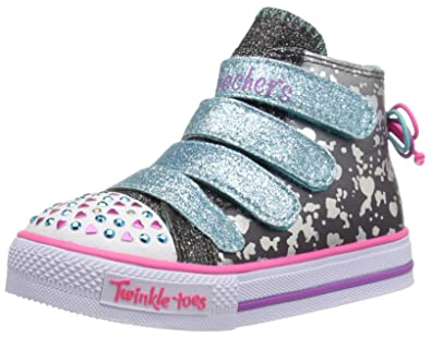 Skechers Kids Twinkle Toes Shuffles Lil Skippers Light Up Sneaker (ToddlerLittle Kid)