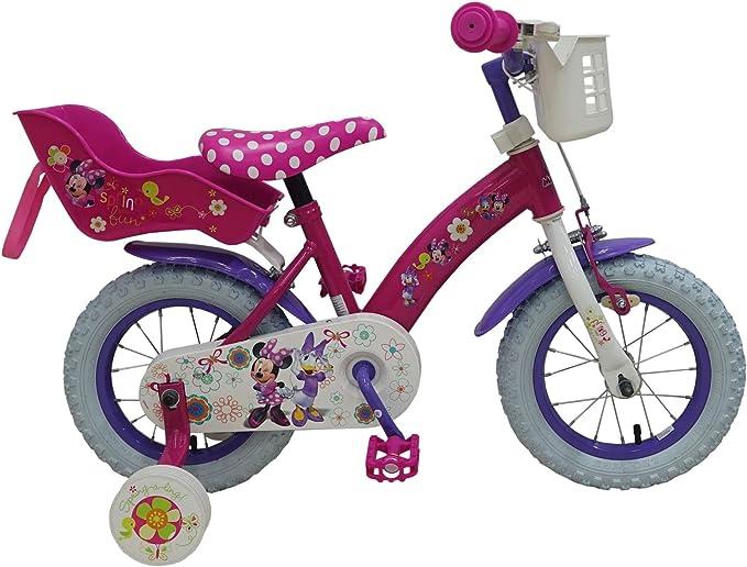 Disney Bicicleta 12 pulgadas 12 niños Chica bicicleta Minnie ...