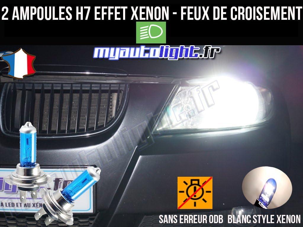 Clio III Ampoules H7 Blanc Look X/énon MyAutoLight