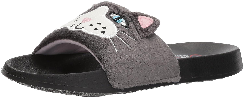 74b098c4abd3 Skechers BOBS From Women s 2nd Take-Plush Animal Slide Sandal