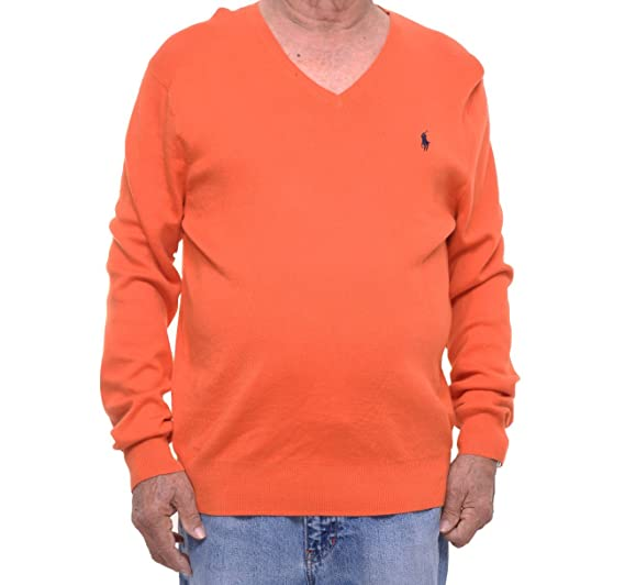 Polo Ralph Lauren Mens Knit Ribbed Trim Pullover Sweater at Amazon ... 2146ccc0fc93