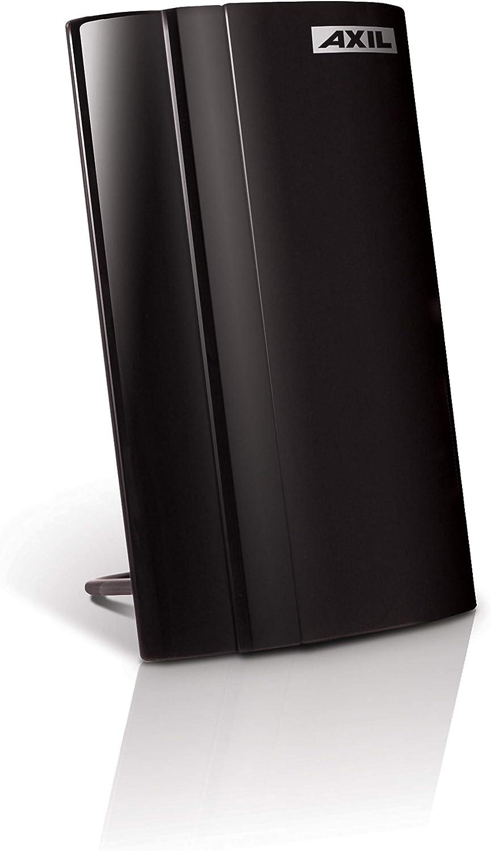 Engel Axil Boston AN0266E - Antena TDT interior, color negro