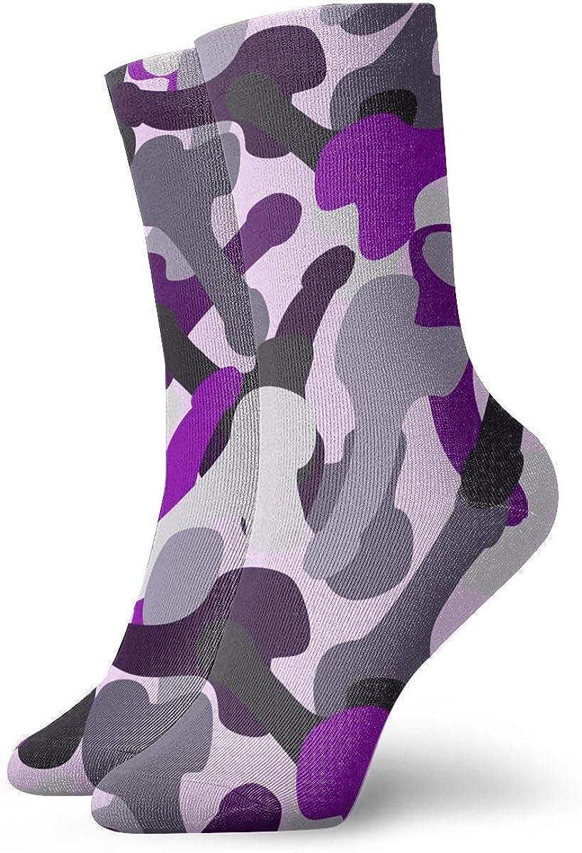 Tammy Jear Camuflaje negro, púrpura y rosa Hombres Mujeres