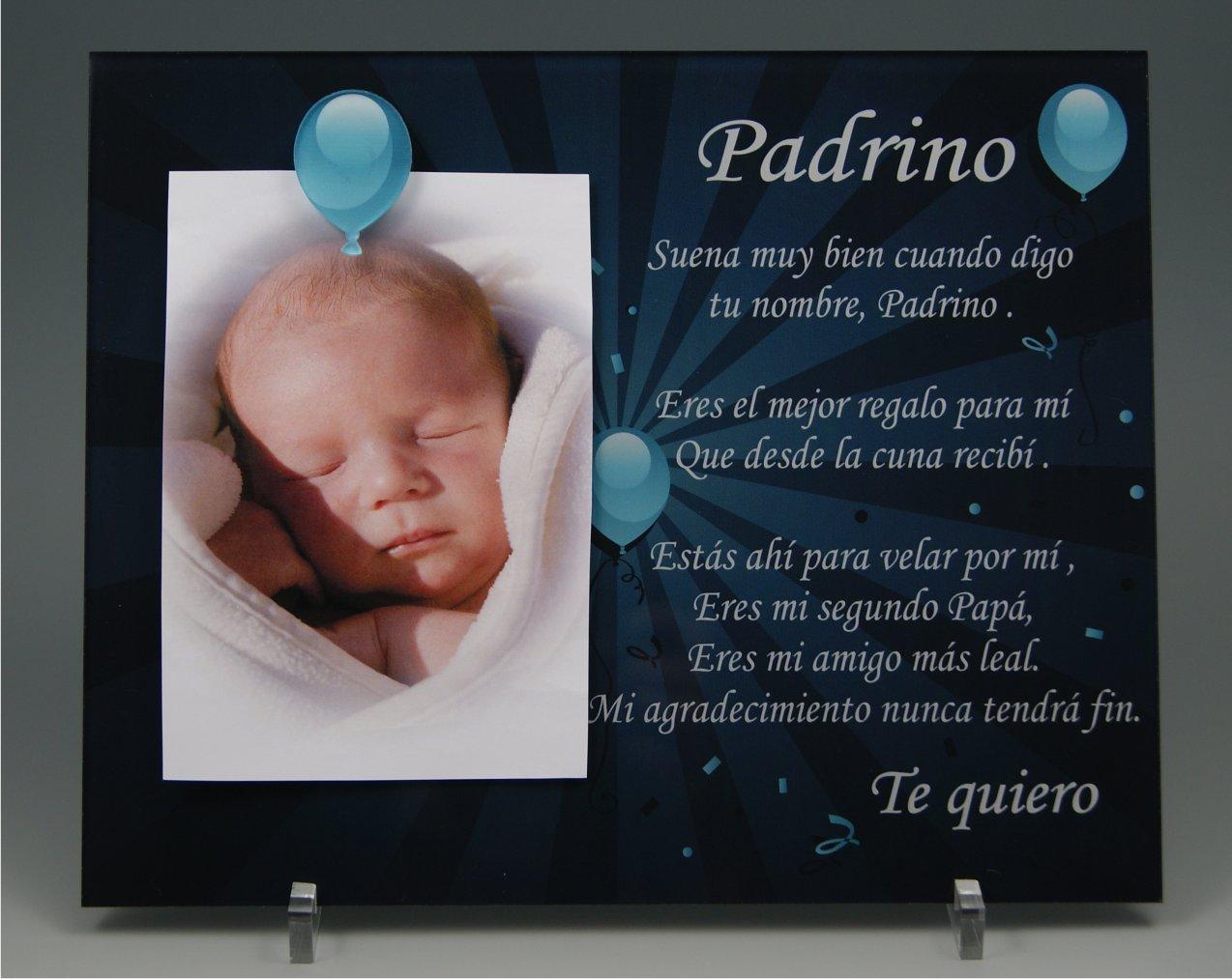Marco de fotos para Padrino - Regalo para bautizos, Navidad ...