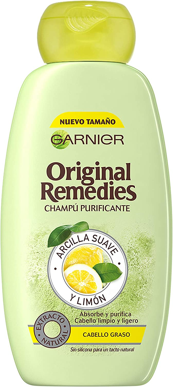 Garnier Original Remedies Arcilla Suave y Limón champú para pelo graso - 300 ml
