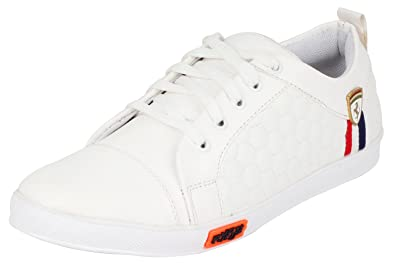 buy popular 07538 5cab1 ETHICS Perfect White Sneaker Casual Shoes for Men's