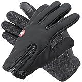 FREESE スマホ手袋 防寒 グローブ タッチパネル対応 防水 裏起毛 おしゃれ 手袋 メンズ